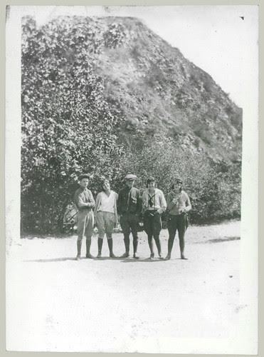 Five on the trail in jodhpurs
