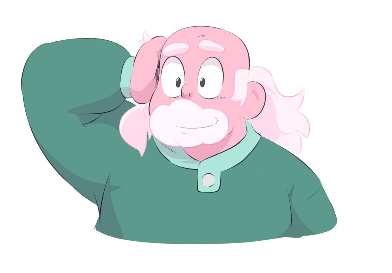 pink greg doodle