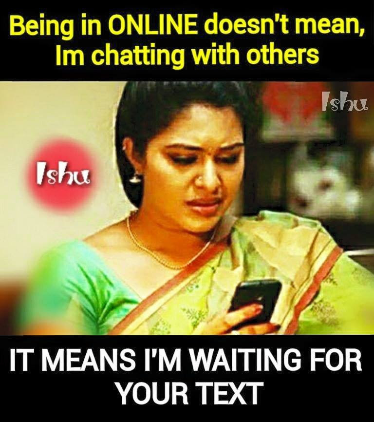 Im Waiting For Your Text Facebook Image Share