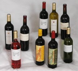 ensemble bouteilles