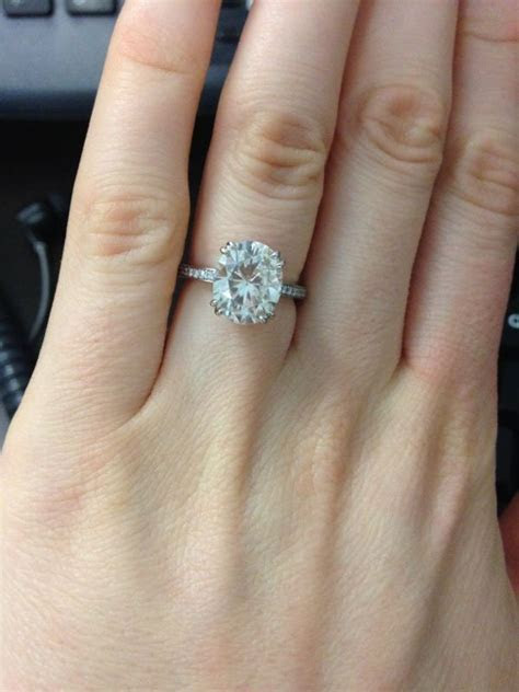 158 best Ring: Oval Engagement Rings images on Pinterest