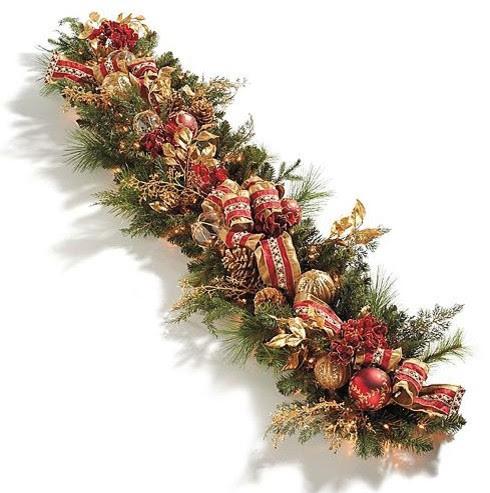 Christmas Decoration Garland Christmas Ideas