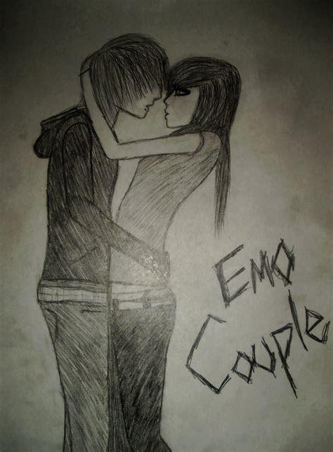 stylish zone emo couple