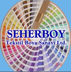 Seherboy Tekstil Boyama Ltd şti Organize Sanayi Bölgeleri