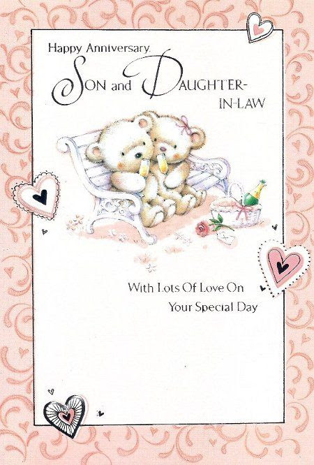 Happy Wedding Anniversary Quotes For Son And Daughter In Law Archidev