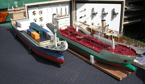 Deans Marine container ships