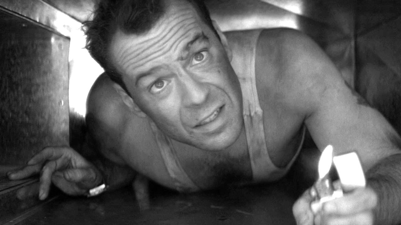 Image result for die hard black and white