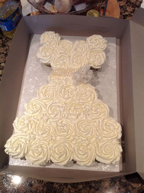 Wedding dress cupcakes   My cakes   Pinterest   Dress