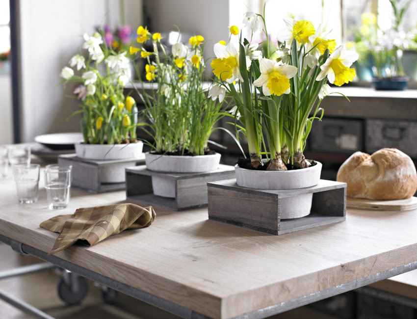 House Decorating Ideas | table decorations for spring