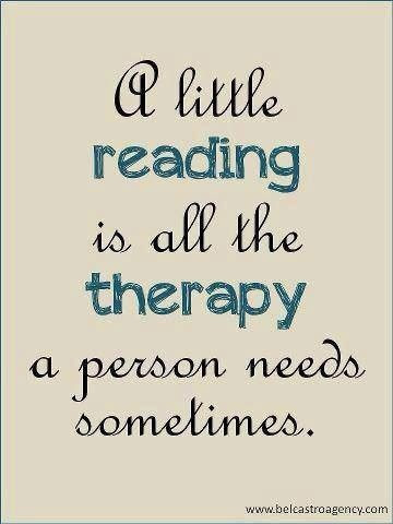 A favourite quote on bibliotherapy
