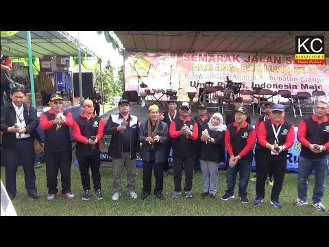 Heboh Jalan Santai HAB Kemenag Ke 74 Di Cianjur