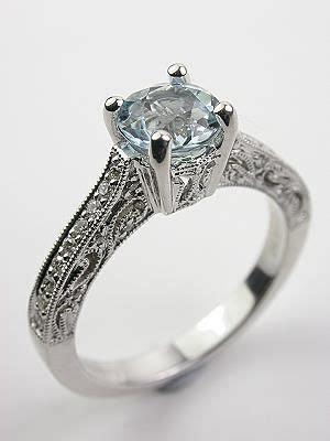 Best 20  Aquamarine engagement rings ideas on Pinterest