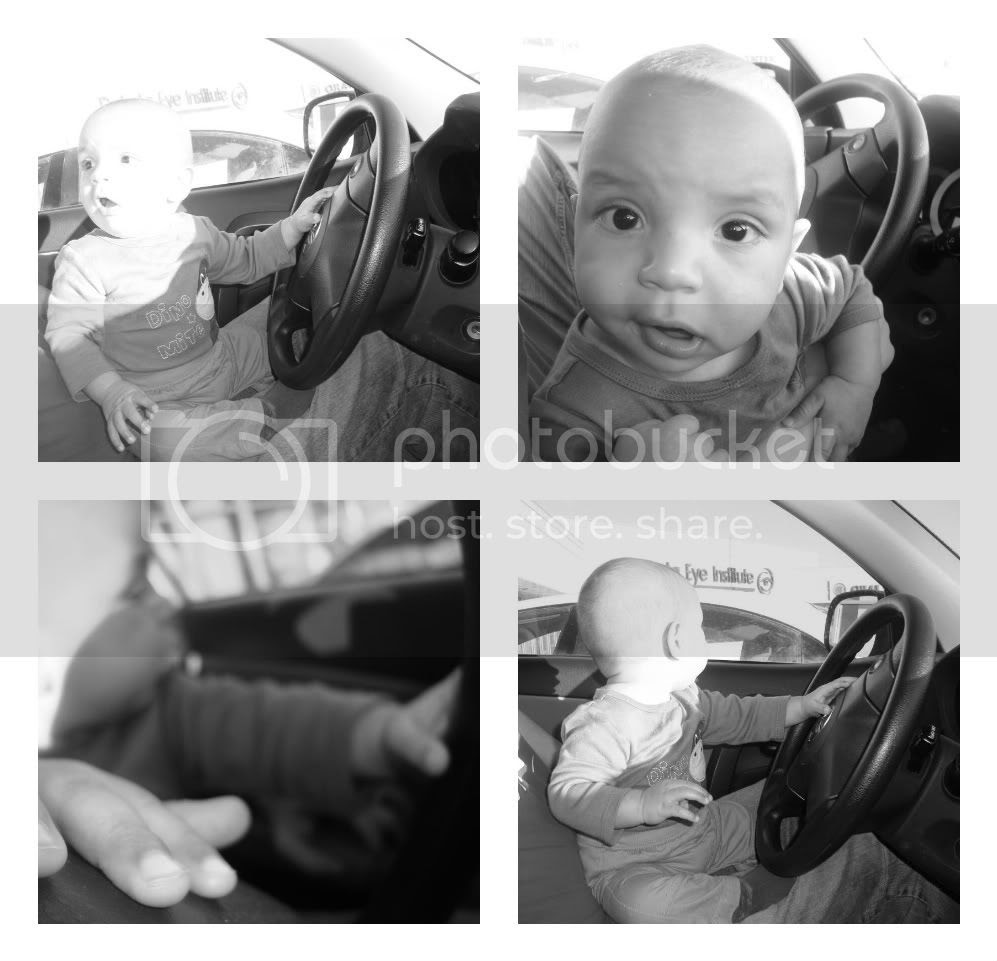 Baby Behind the Wheel