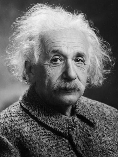 Memórias: Albert Einstein