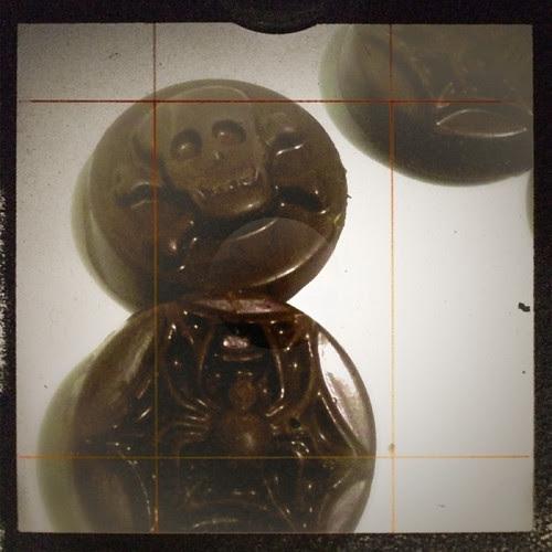 Creepy cookie mold