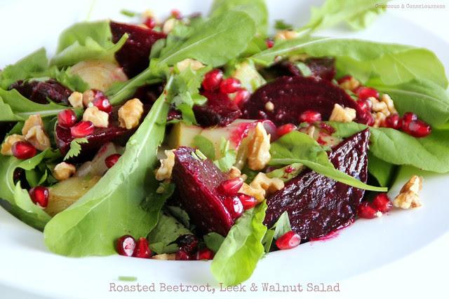 Roasted Beetroot, Leek & Walnut Salad 2