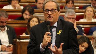 """Quim Torra es vol reunir amb Pedro Sánchez a la Generalitat """"per seguir avançant i per seguir discutint"""" (ACN)"""