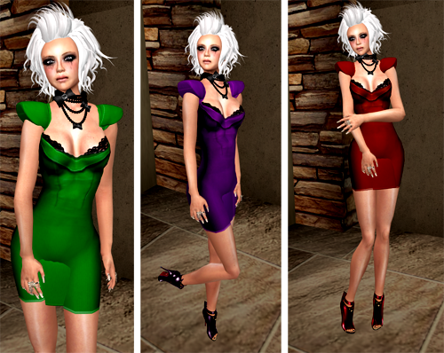 NEW! -Phoenix Rising-Impede Outfit