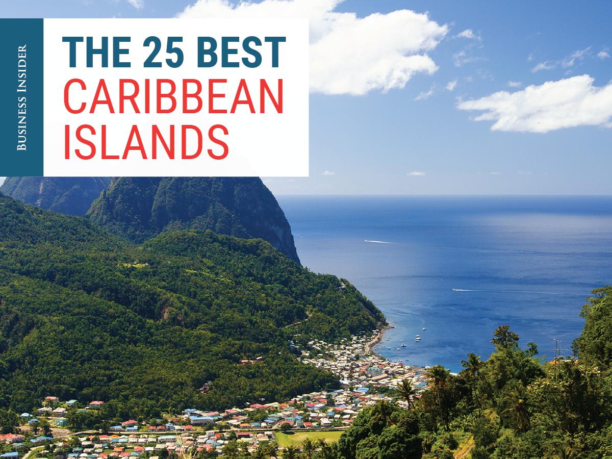 25 best Caribbean islands  Business Insider