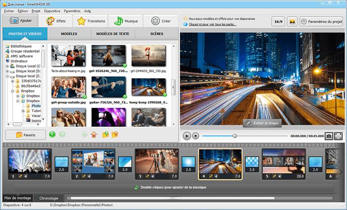 Montage Vidéo Avec Photos Et Musique Smartshow 3d