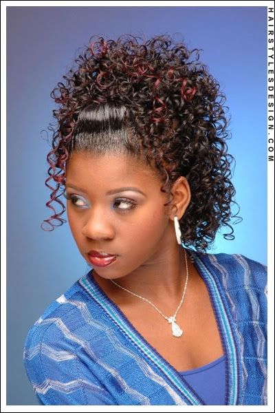 Latest Black Curly Hairstyle For Black Women 2011