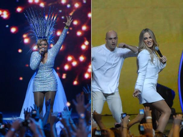 Gaby Amarantos e Claudia Leitte prometem não deixar ninguém parado (Foto: Rede Globo)
