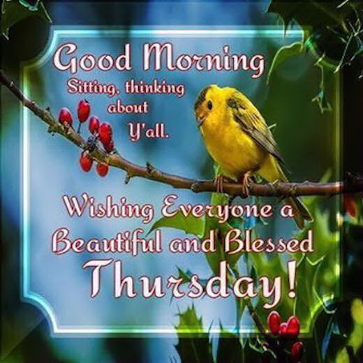 Good Morning Thursday Quotes Quotes