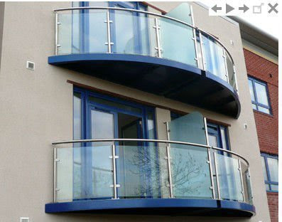 Glass Balcony Glass Railing Manufacturer From Chennai