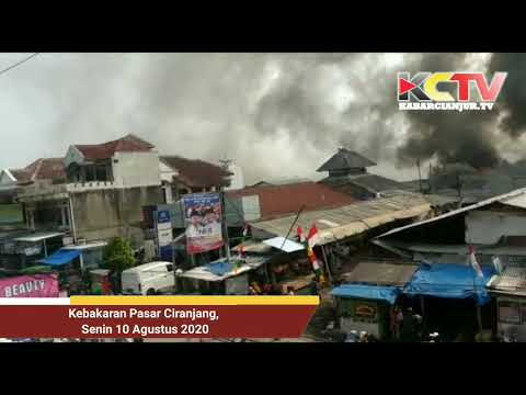 BREAKINGNEWS | Si Jago Merah Melalap Pasar Ciranjang Cianjur Jawa Barat