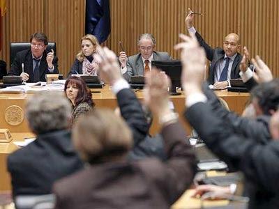 La Comisión en el Congreso ha votado rechazar la 'ley Sinde'.