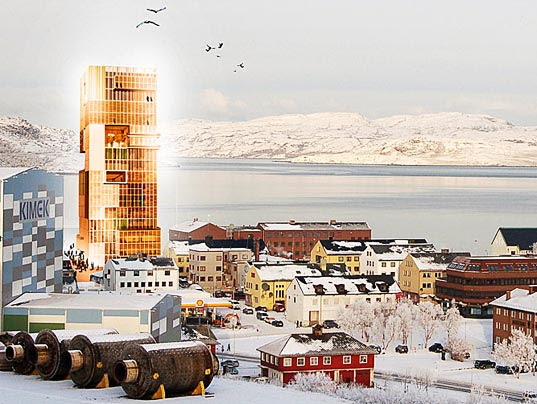 Norwegian Barents Secretariat - World's Tallest Wooden Building