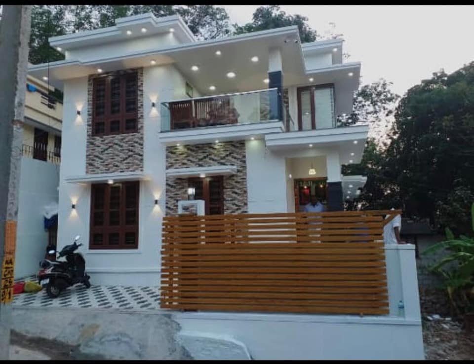 4 Bedroom Modern Flat Roof Double Floor Home For 26 Lack ...