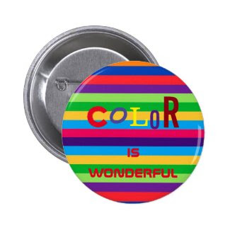 Color is Wonderful Button