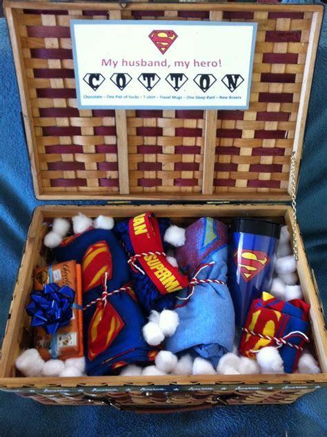 2nd Anniversary Cotton Super Husband Basket My Sweetheart