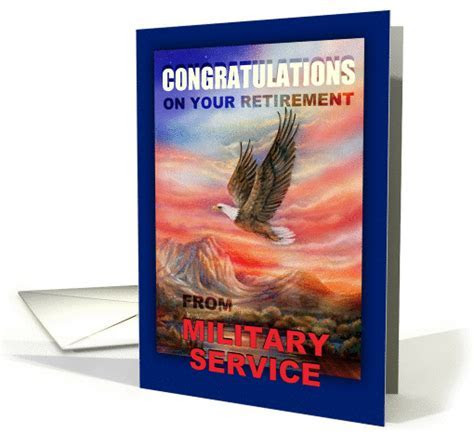 Congratulations on Retirement from Military Service, Air