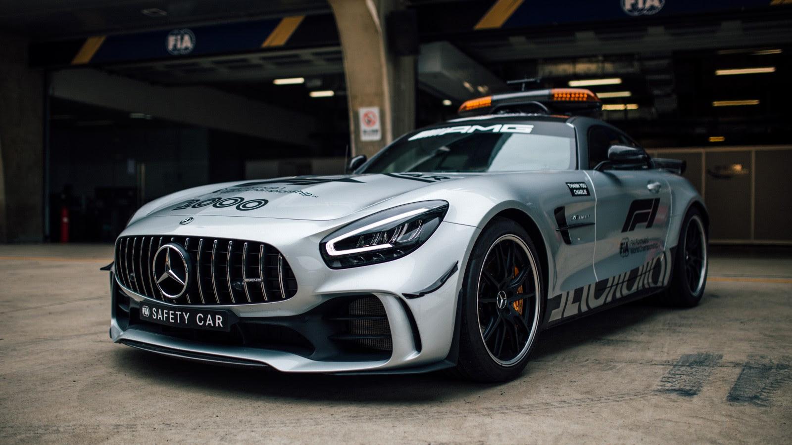 Mercedes-AMG GT R F1 Safety Car 5K Wallpaper   HD Car ...