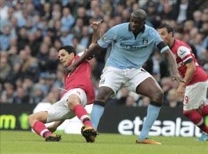 El Arsenal le arranca un empate a un Manchester City conservador. EFE