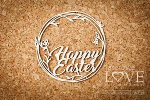 Tekturka -  Napis Happy Easter - Easter Bunny