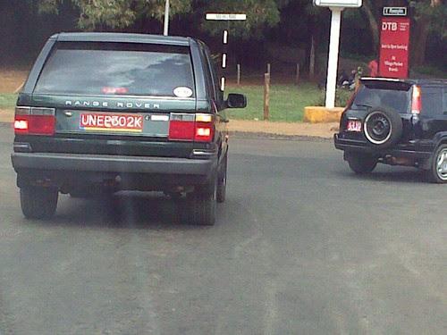 UNEP Range Rover!!