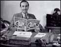 Walt Disney en su despacho © Disney
