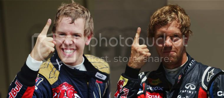 Sebastian Vettel frigodedo 2008 2011