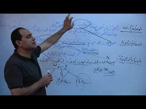 مساق الصحة العامة  د منتصر جودة  المحاضرة الرابعة  الفصل...