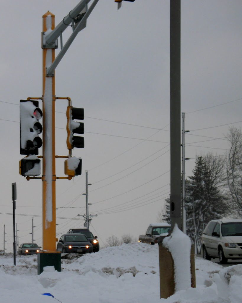 snow storm hits the twin cities