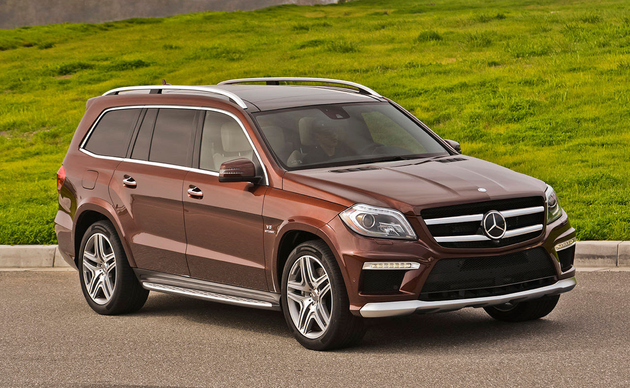 Comparison - Mercedes-Benz GL-Class GL63AMG 2015 - vs ...