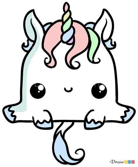 draw elvish unicorn kawaii