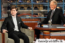 Daniel Radcliffe on Late Show with David Letterman