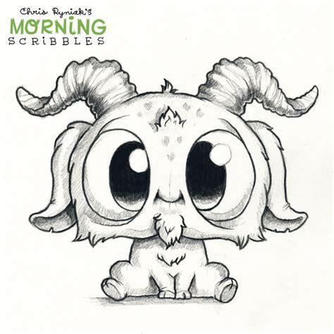 chris ryniak  creating friendly monster drawings