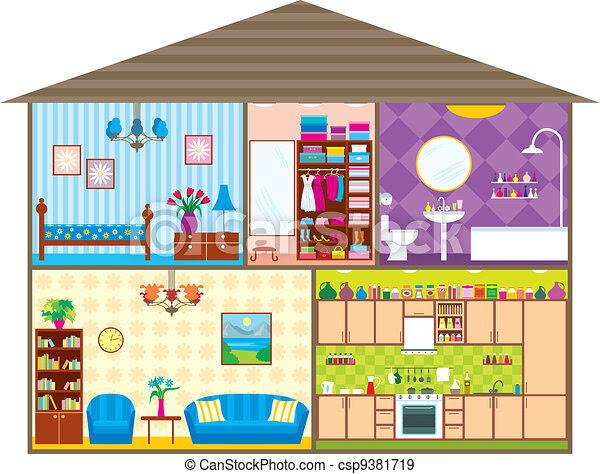 Casas De Dibujos A Color Imagui