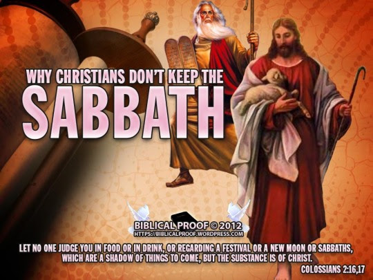 Why Christians Don't Keep The Sabbath