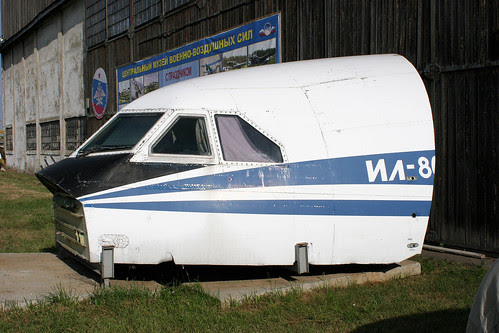 Il-86 flightdeck
